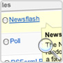 Newsflash :: Display a rolling list of content items from a specific section or category.